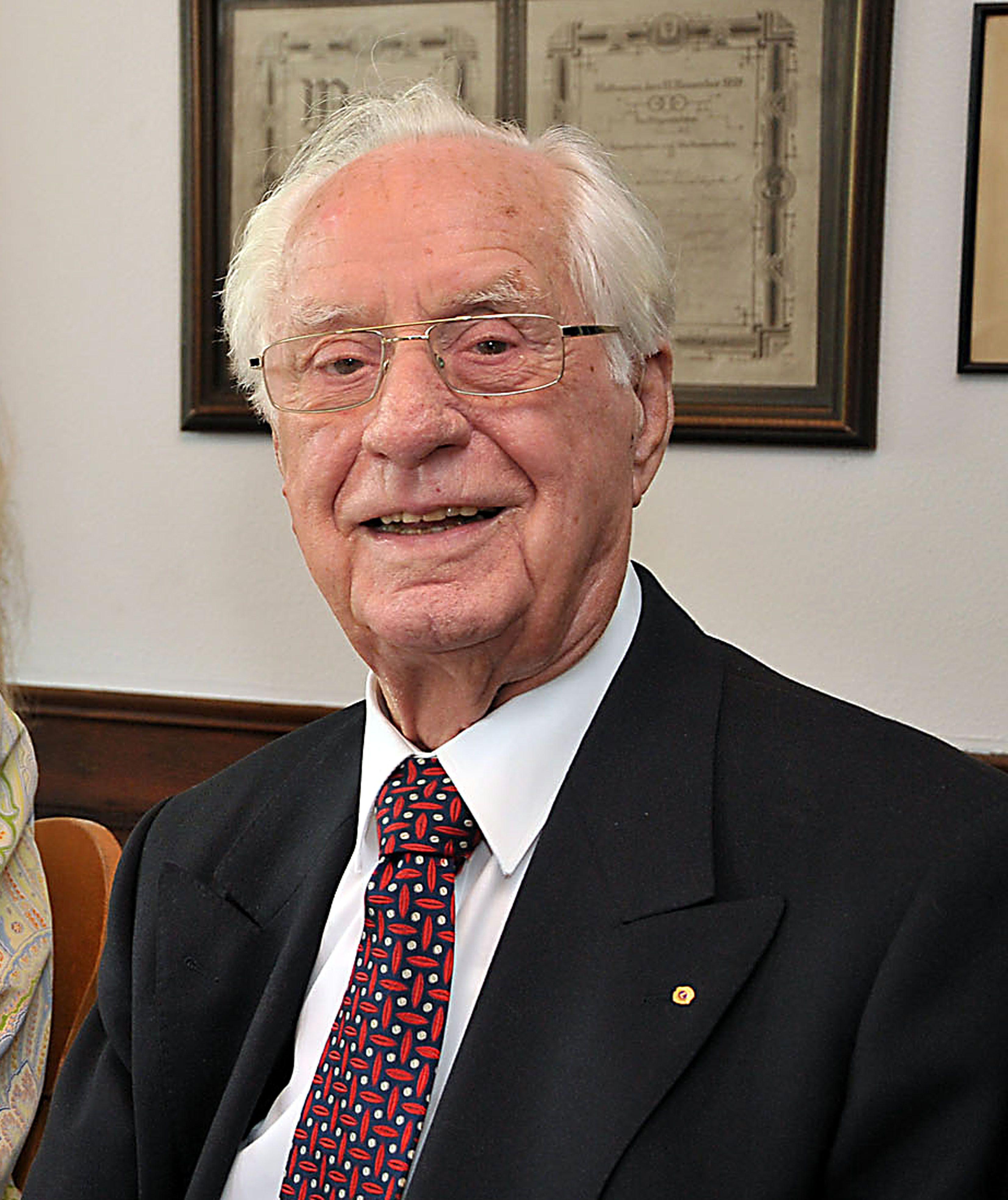 Paul Brenger wurde am 5. Januar 99 Jahre alt. Foto: privat