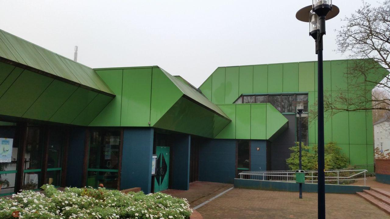Die Mettmanner Stadthalle. Archivfoto: TME
