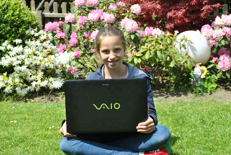Antonia geht in die 6. Klasse des Gymnasiums. Foto: TME