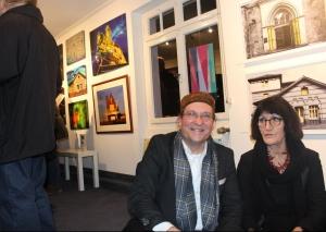 Maria Kanisius-Reuter und Ingo Grenzstein stellen wieder gemeinsam aus. Foto: Archiv TME