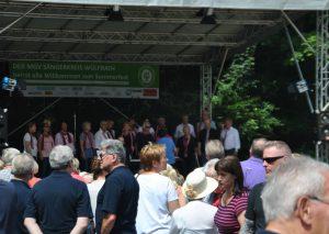 Sehr gut besucht war stets das Sommerfest des MGV Sängerkreis. Foto: TME