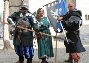 Am 22. und 23. Oktober werden die Ritter wieder den Marktplatz erobern. Foto: TME