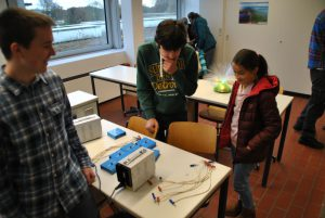 Viertklässler konnten sich über den Physik-Unterricht informieren.