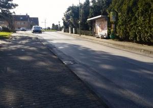 Dieses Teilstück der Eidamshauser Straße wird erneuert. Foto: TME
