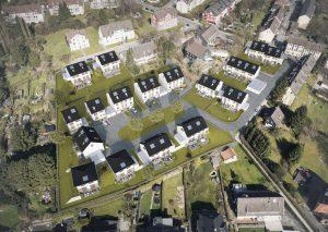 So sollen sich die neuen Häuser in die Umgebung einpassen. Bildquelle: Bonova