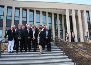 In Mettmann hat der Kreis heute sein zweites Verwaltungsgebäude eingeweiht. Foto: Kreis Mettmann