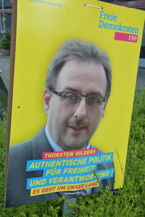 So wirbt Thorsten Hilgers für sich. Foto: TME