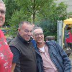 """Drei vom 83er-Jahrgang (v.l.): """"Bodo"""" Qualo, Jens Platzhoff und Jörg Büngeler."""