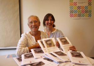 Die Gleichstellungsbeauftragte Gudula Kohn und ihre Stellvertreterin Franca Calvano präsentieren das Programm der Gleichstellungs-Stelle. Foto: TME