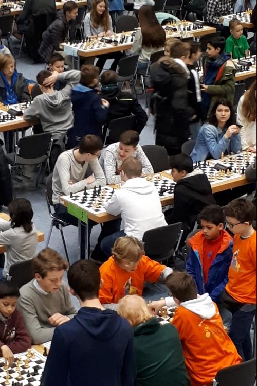 An mehr als 100 Tischen wurde gespielt. Foto: privat