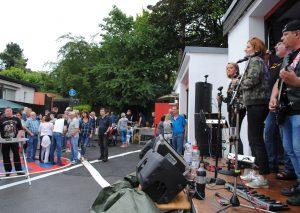 """Die Band """"7even Amped"""" sorgte für Partystimmung. Foto: TME"""