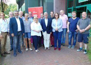 Der neu gewählte Vorstand der AfA im Kreis Mettmann. Dritter von links Ahmet Yildiz, Vorsitzender. Foto: SPD