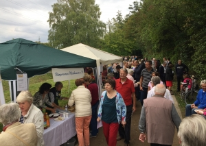 Jubiläumsfeier im Comberg-Park. Foto: TME