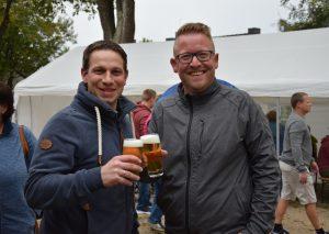 Das Duo, das den Bürgerverein Rohdenhaus führt: Stephan Michaels und Olaf Schwingen (r.): Foto: TME