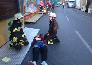 Insgesamt mussten im Übungs-Szenario 20 Personen ärztlich versorgt werden. Foto: Feuerwehr Haan