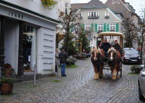 Eine ganz besondere Adventürchen-Aktion: Mit der Kutsche durch die Oberstadt. Foto: TME