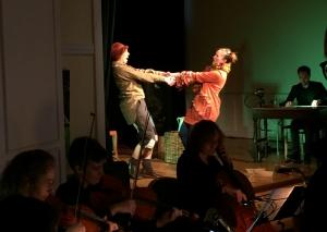 Hänsel und Gretel in der Kulturvilla. Foto: TME