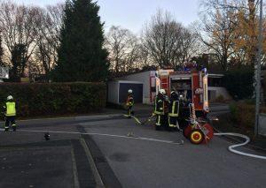 Heute war die Wehr an der Fontanestraße gefordert. Foto: Feuerwehr