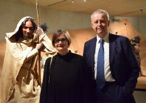 Prof. Dr. Gerd-Christian Weniger und seine Nachfolgerin Dr. Bärbel Auffermann. Foto: TME