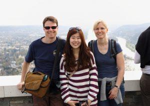 Gastfamilien werden gesucht - wie hier für eine Schülerin aus Taiwan. Foto: Experiment e.V./privat