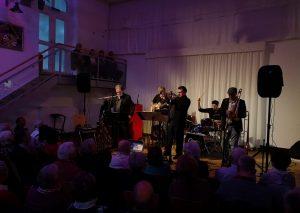 Die Climax Band Cologne gastierte in Schlupkothen. Foto: TME