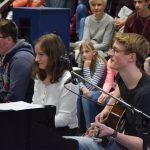 Ein toller Auftritt (v.l.): Johannes Rosslan, Lisa Brunßen und Henri Niewind.
