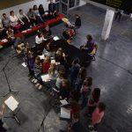 """MammaMia"": Band und Chor."
