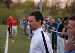 Einigkeit-Coach Luca Lange. Foto: TME