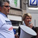 Ahmed Yildiz und Claudia Panke