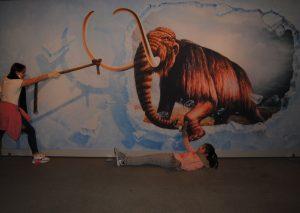 Mammut-Rettung im Neanderthal Museum. Foto: TME