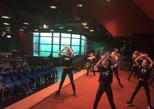 """Die ebenfalls ausgezeichneten """"Power Dancers"""" bei der Sportlerehrung. Foto: TME"""