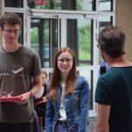 Bis zum Abitur in diesem Jahr dabei: Maxi Hecker und Antonia Poetsch.