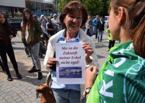 Klimaschutz-Protest ist generationenübergreifend. Foto: TME