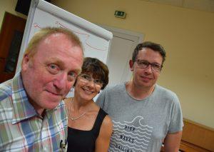 Der Vorstand des TB Wülfrath (v.l.): Lothar Weber, Nicole Püchel und Mark Tholl. Foto: TME