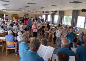 Sehr gut besucht war das Sommerfest der Arbeiterwohlfahrt. Foto: TME