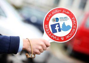 Jetzt auch auf Facebook und Twitter: Die Kreispolizeibehörde Mettmann.