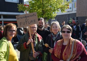 Der Protest ist generationenübergreifend. Foto: TME
